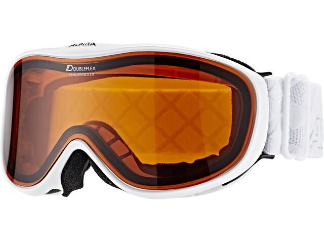 Alpina Challenge S 2.0 Doubleflex S2 - Lunettes de protection - blanc